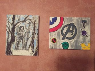 Winter Soldier and Avengers by Storming777