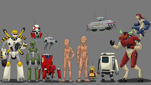Robots of DVU by ScottaHemi