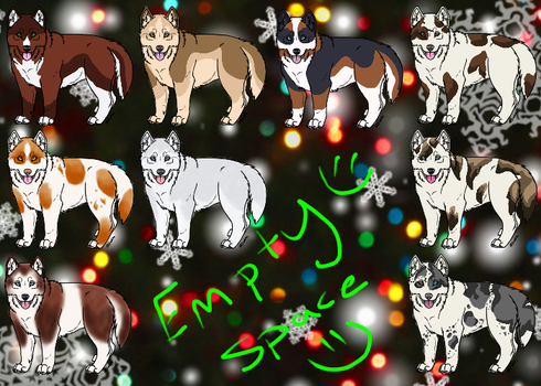 Husky Adopts Open! by Paradise--Adopts