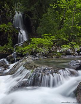 Canyon of the Waterfalls by photogrifos