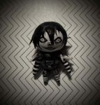 Tiny clay Laughing Jack is staring into your soul~ by SpunketPunk