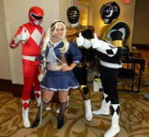 Babydoll meets The Power Rangers by Perez2407
