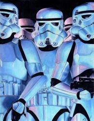 Storm Troopers by AllisonSohn