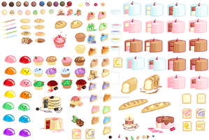 Shop-Pixel Food Sheet by Buried-Above-Love