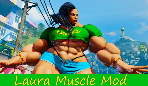Laura Muscle Mod by Ripped-Pixels
