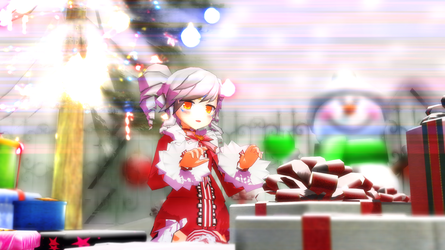 (MMD ELSWORD) Eve Christmas outfit Download +Video by Cresitonia