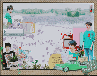 KARRY -WANG-TFBOYS by anhle630