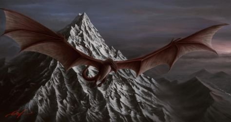 Smaug by Ferain