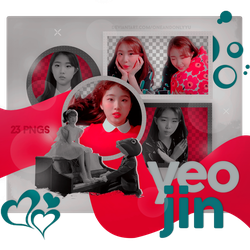 PNG PACK #01 | YEOJIN - KISS LATER (LOONA) by oneandonlyyu