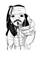 Cpt Jack Sparrow by Asaph