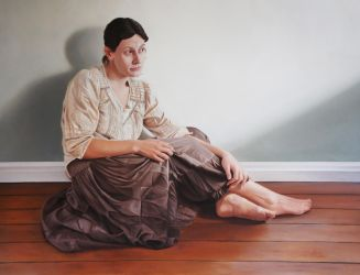 Woman, Seated by Andrew-Brady