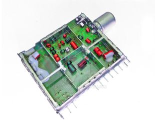 LCD TV radio frequency TUNER inside by attilasebo