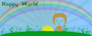 Happy World ! by Ternouille