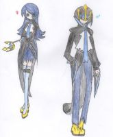 Empoleon Male and Female Human Forms