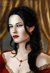 Arcelia Lannister for Resoan by SYoshiko