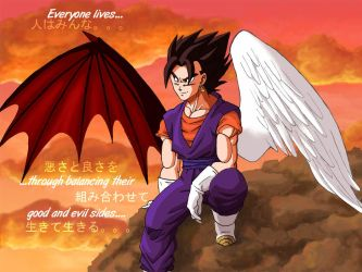 Vegetto's Wings by Risachantag