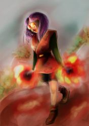 On fire by LadyProphet