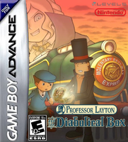 Prof. Layton and the Diabolical Box GBA Boxart by Dollarluigi