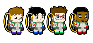 Storybook-Style Ghostbusters by BradRedfield