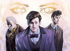 The Day of the Doctor_ color by MatiasSoto