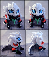 Chibi Valak OC Plush by SewYouPlushieThings