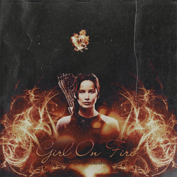 Girl On Fire by onedirectionelif
