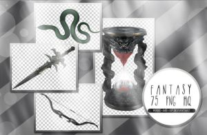 PNG Pack #1 - Fantasy by Wake--Me--Up