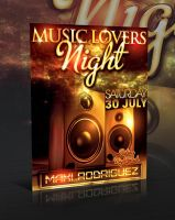 MUSIC LOVERS FLYER -PSD- by retinathemes