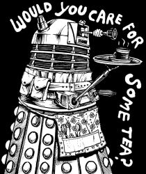 Dalek Illustration by lauragulbis