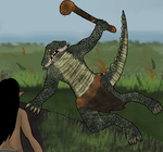 AAAA August 11 Alligator hunter by TheReptilianGeneral