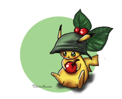Tiny Pikachu by ChainIllusion