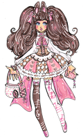 Shiori the Dainty -C by Guppie-Vibes