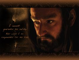 The Hobbit Wallpaper: Thorin Oakenshield -1024x768 by DarqueJackal