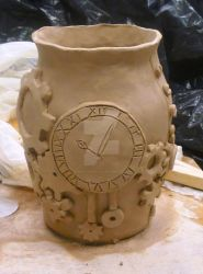 WIP: Ceramic Vase by paperfaceparade