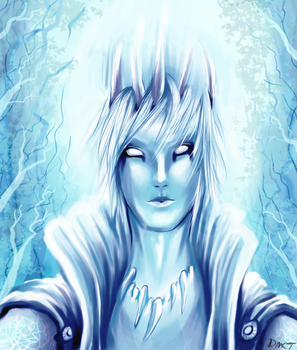 The Ice King by Azuh-ra-el