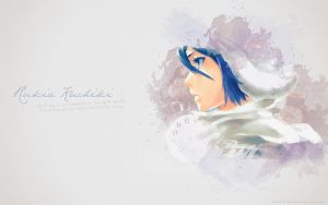 Rukia Kuchiki  - Wallpaper by Erian-7