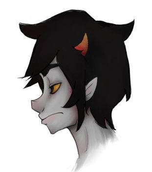 A return to Karkat by flying-pyro-of-doom