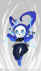 Undertale:: Underswap:: Blue Attacks by SpaceJacket