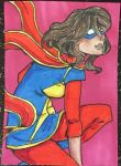 ACEO - Ms. Marvel by purenightshade