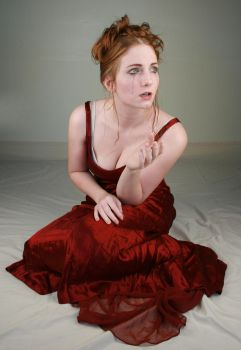 Woman Red Dress XII by IQuitCountingStock