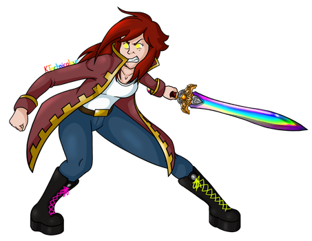 Fight me! by KTechnicolour