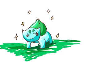 bulbasaur used solarbeam by Goldphishy