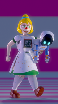 Local Robot Teacher Punishes Local Robot Robot by Dweebnut