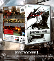 Prototype DVD Cover by archnophobia