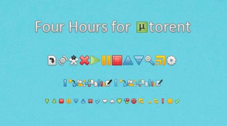 Four Hours for utorrent by blymar