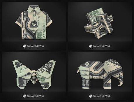 Squarespace Origami by Pixel-Sage