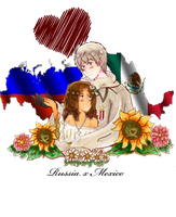 APH: Russia x Mexico by Spirit-Okami
