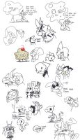 Another Livestream doodles by jelaiann123