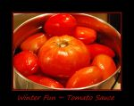 Winter Fun... Tomato Sauce by LadyAliceofOz