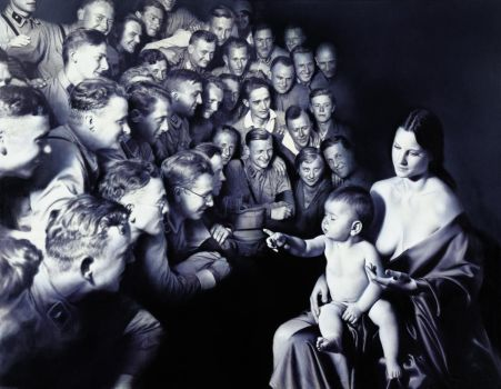 Epiphany II (Adoration of the Shepherds) by gottfriedhelnwein